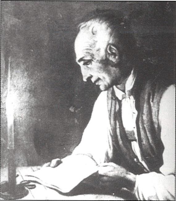 Anton Obrist, Porträt von Johann Arnold (1834)