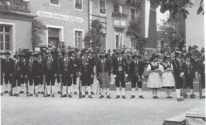 Einweihung des Gemeindehauses in Stans 1960