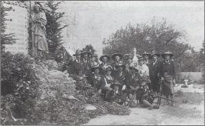 Einweihung des Kriegerdenkmales 1921